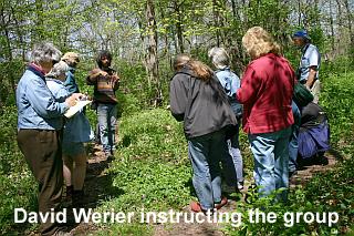 David Werier with walk group